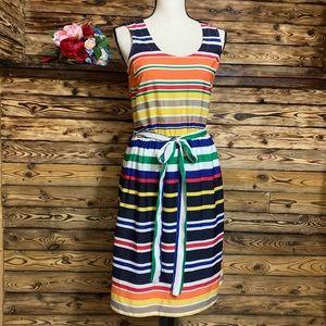 Banana Republic Rainbow Stripe Dress